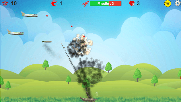 Anti Aircraft Bomber APK screenshot 1