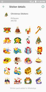 Christmas Stickers For Whatsapp - WAStickerApps APK screenshot 1