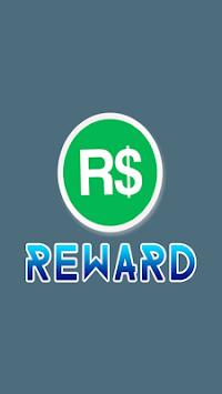 Free Robux Reward APK screenshot 1
