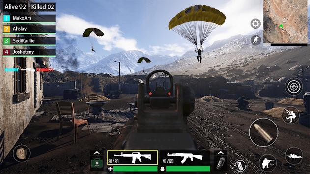 Swat Battleground Force APK screenshot 1