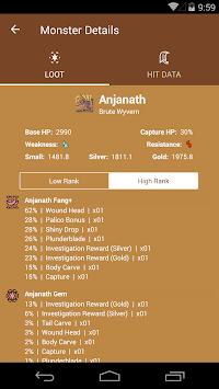 MHW Companion APK screenshot 1