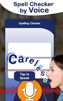 Spell and Pronounce it Right - TTS / STT APK screenshot 1