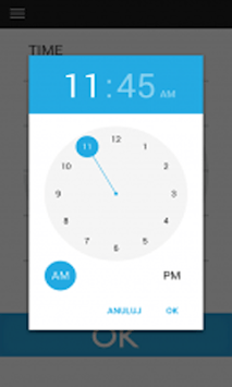 Wake up through clock application APK screenshot 1