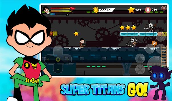 Team titans go games APK screenshot 1