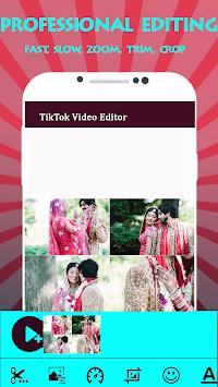 Video Editor for TikTok APK screenshot 1