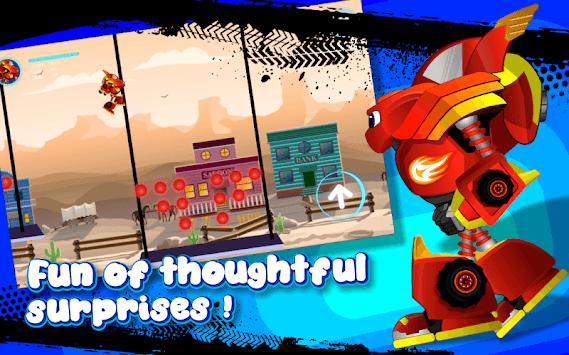 Blaze Robot Machines APK screenshot 1
