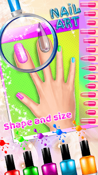Romantic Adventures: Nail Designs APK screenshot 1
