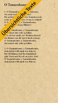 German Christmas Carols + APK screenshot 1