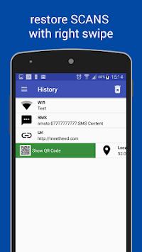 QR Code Reader APK screenshot 1