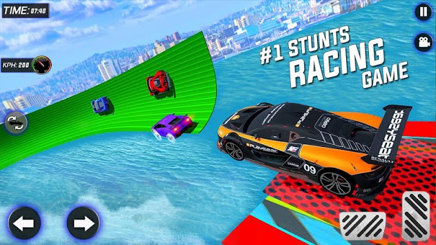 Extreme City GT Car Stunts APK screenshot 1