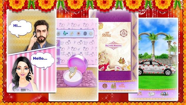 Royal Indian Wedding Girl Arrange Marriage Rituals APK screenshot 1