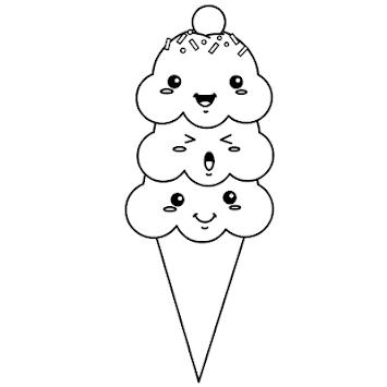 How To Draw Ice Cream APK screenshot 1