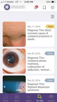 AAO Ophthalmic Education APK screenshot 1