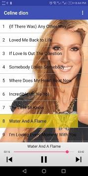 أغاني سيلين ديون - celine dion songs APK screenshot 1
