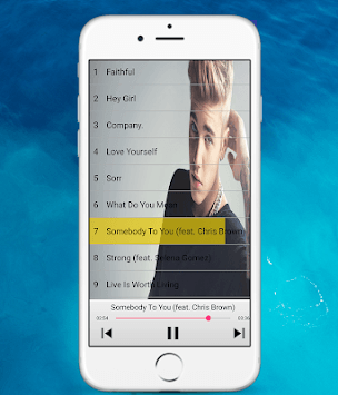 Justin beiber songs APK screenshot 1
