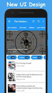 Hackers News (Tech News & Hack Updates) APK screenshot 1