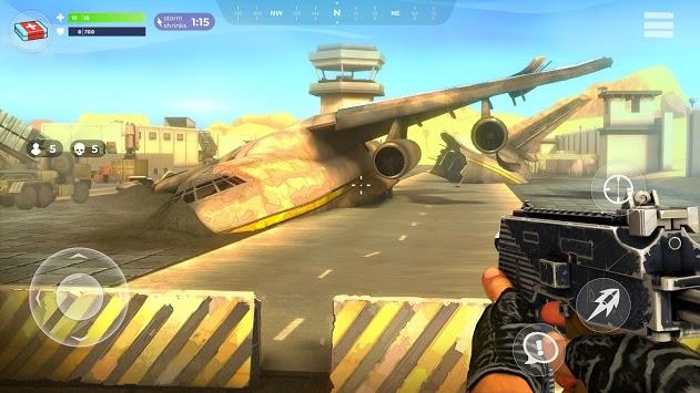 FightNight Battle Royale: FPS Shooter APK screenshot 1