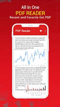 PDF Reader for Android 2019 APK screenshot 1