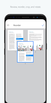 Adobe Scan: PDF Scanner, OCR APK screenshot 1