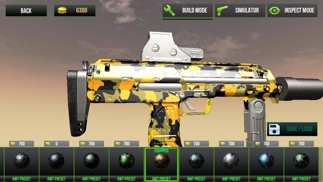 Custom Gun Simulator 3D APK screenshot 1