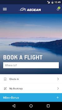 Aegean Airlines APK screenshot 1