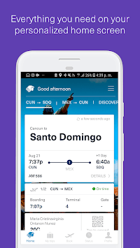 Aeromexico APK screenshot 1