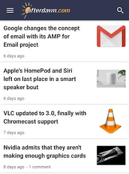 AfterDawn - Tech news, explained! APK screenshot 1