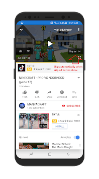 Skip Ads APK screenshot 1