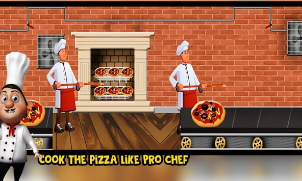 Pizza Factory Delivery: Food Baking Cooking Game APK screenshot 1