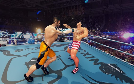 Royal Wrestling Cage: Sumo Fighting Game APK screenshot 1