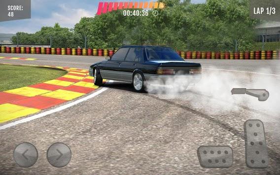 Extreme drift car game APK screenshot 1