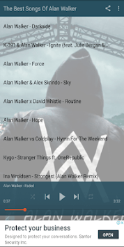 Popular Songs Alan Walker APK screenshot 1