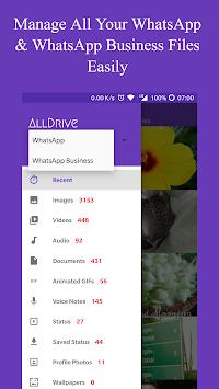 Status Saver for WhatsApp + File Manager APK screenshot 1