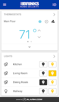 Brinks Home Security APK screenshot 1