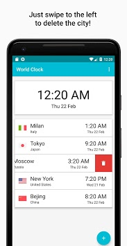 World Clock - Timezones and Travel Infos APK screenshot 1