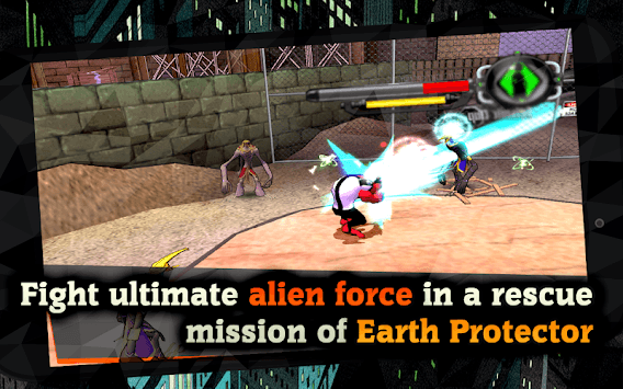 Alien Force War: Earth Protector APK screenshot 1