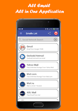 All Emails - All in One APK screenshot 1