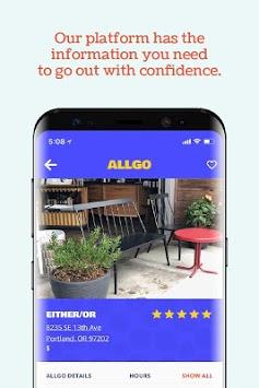 AllGo - A Plus Size Review App APK screenshot 1