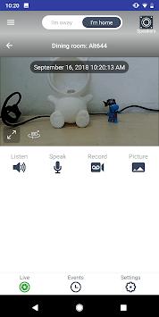 Altec Smart Security System APK screenshot 1
