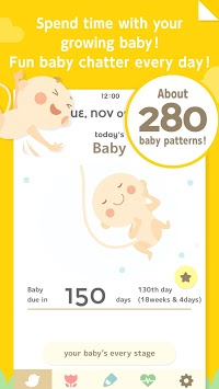 280days: Pregnancy Diary APK screenshot 1