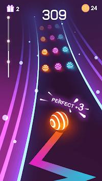 Dancing Road: Colour Ball Run! APK screenshot 1