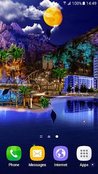 Night City Live Wallpaper APK screenshot 1