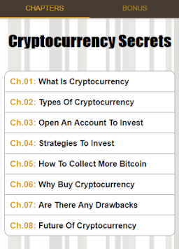 Cryptocurrency Secrets APK screenshot 1