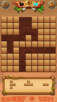 Classic Wood Block Puzzle APK screenshot 1