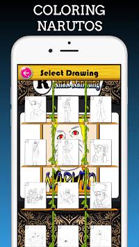 Coloring Narutos APK screenshot 1