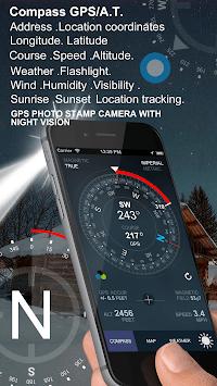 Compass GPS/A.T. APK screenshot 1