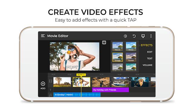 HD Movie Editor - Video Maker For iiMovie APK screenshot 1
