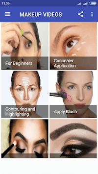Makeup  Videos APK screenshot 1