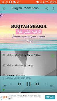 Ruqyah Al Shariah Mp3 APK screenshot 1