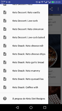 keto diet recipes -30 Days Plan APK screenshot 1